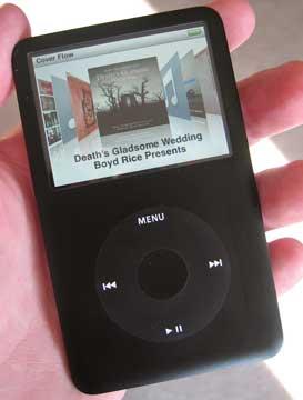 iPod karatasi la kupamba ukuta with a video ipod and an ipod called iPod