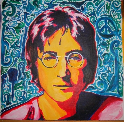 john lennon-9 October 1940 – 8 December 1980)