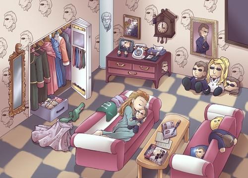 kidou's room