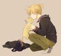 len likes cats