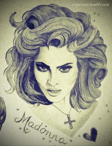 madonna-drawing
