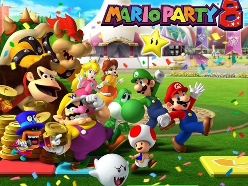 Super Mario Hintergrund entitled mario party 8