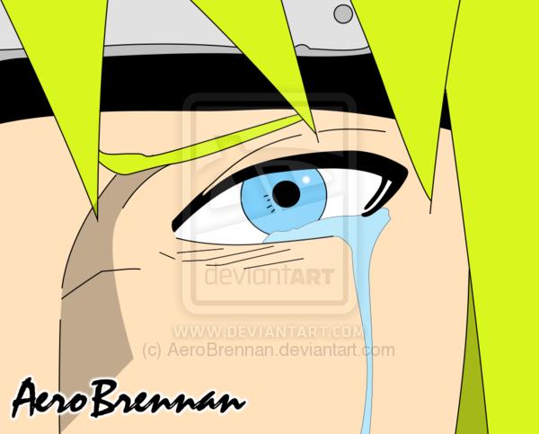 minato crying