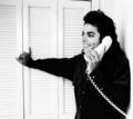 sexy mikey on phone - michael-jackson photo