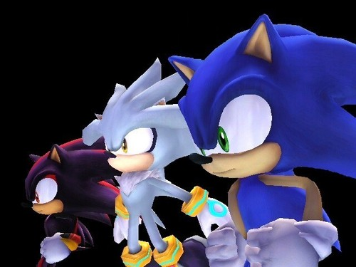 sonic shadow and silver
