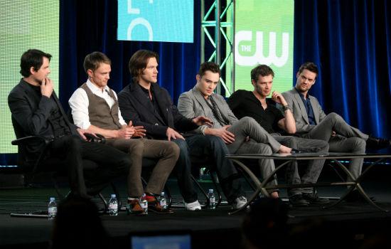 the CW's 'Badass Boys' Panel
