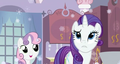 winter rarity and sweetie belle