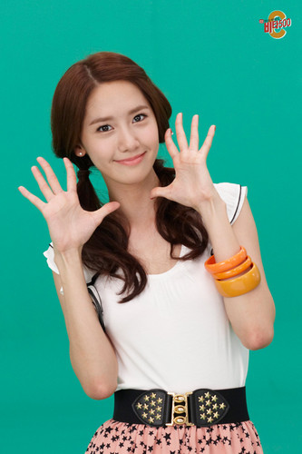 S♥NEISM wallpaper with a portrait entitled yoona @ Vita500