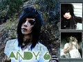 ☆ Andy Biersack - musicians-in-makeup wallpaper
