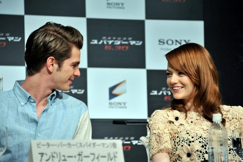 'The Amazing Spider-Man' Press Conference in Япония