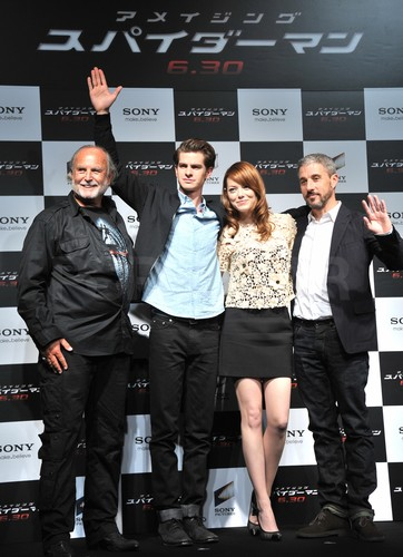 'The Amazing Spider-Man' Press Conference in Japon