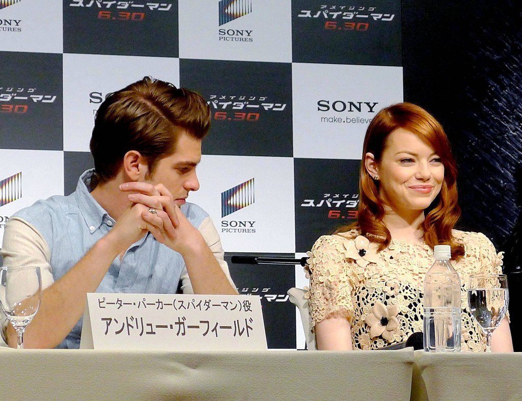 'The Amazing Spider-Man' Press Conference in Japan