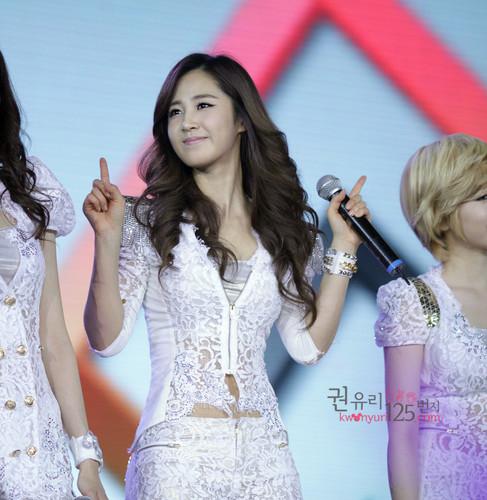 Yuri @ 2012 Girls Generation Tour in Hongkong