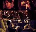  damon salvatore &amp; katherine pierce - damon-and-katherine fan art
