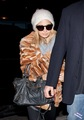 1/19 Leaving LAX in a fox coat - nicole-richie photo