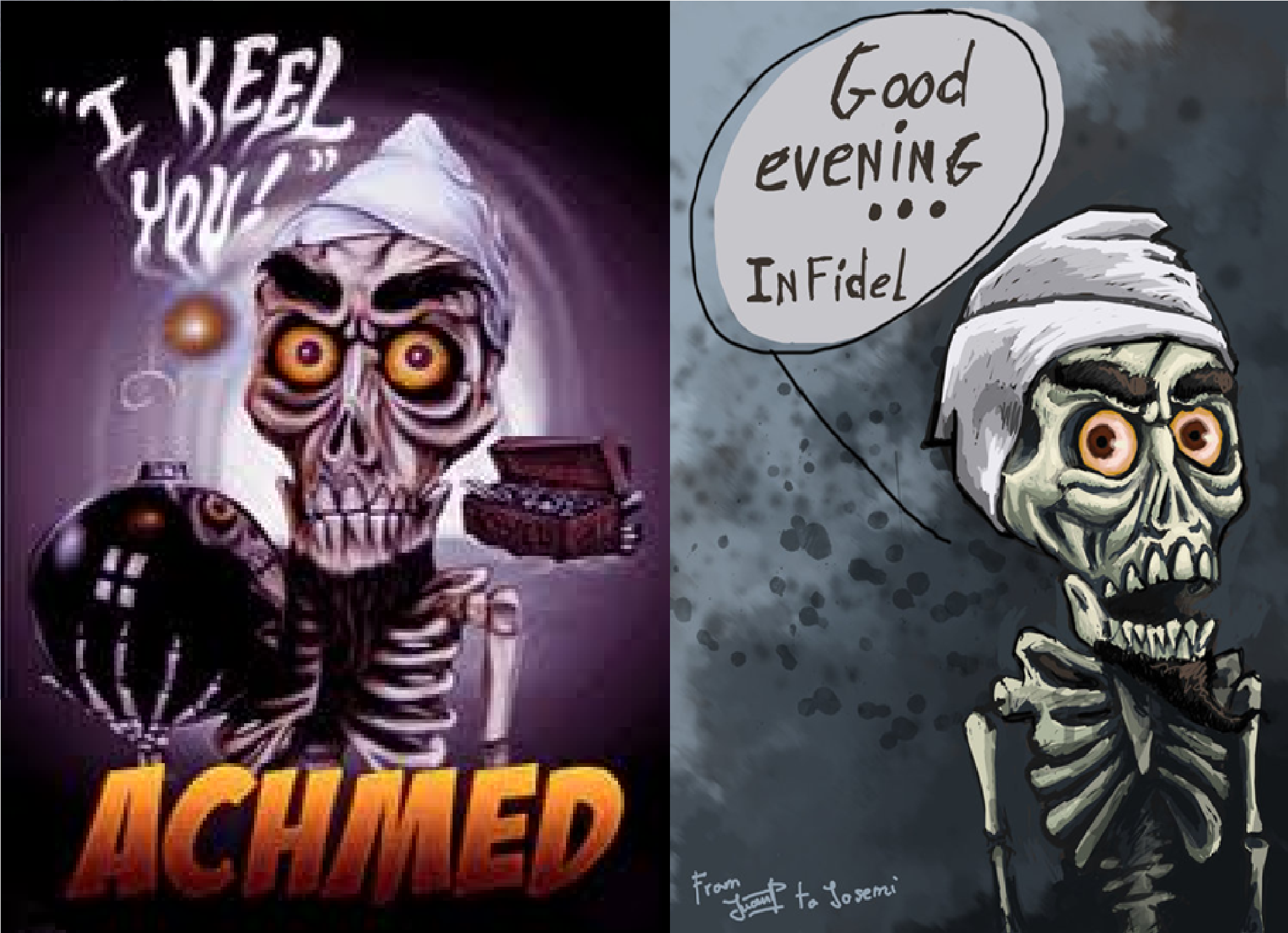 Achmed dead terrorist quotes for Achmed the dead terrorist halloween decoration