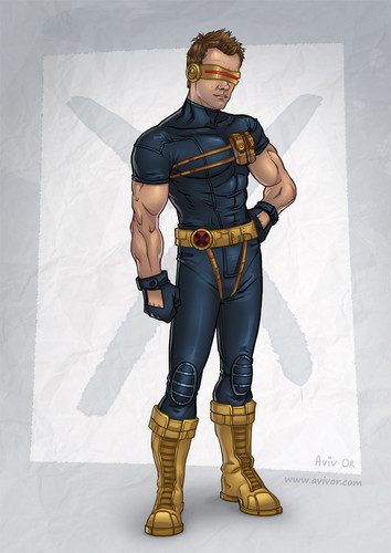 Jeff as Cyclops