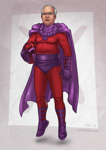 Pierce as Magneto