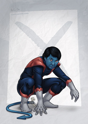 Community wallpaper called Chang as Nightcrawler