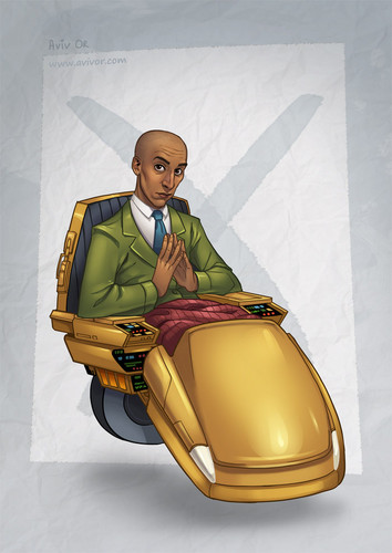 Community wallpaper titled Abed as Professor X