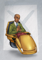Abed as Professor X