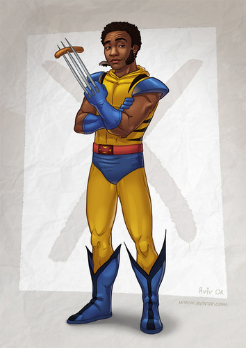 Troy as Wolverine
