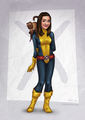 Annie as Kitty Pryde