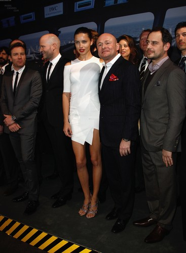 Adriana Lima attends the IWC Schaffhausen শীর্ষ Gun Gala Event in Geneva, January 17 2012
