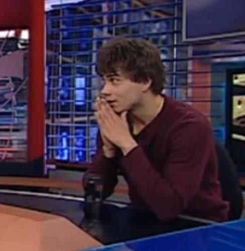 Alexander on Romanian TV :)