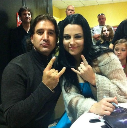 Amy & Scott Stapp from Creed! (01/17/12)