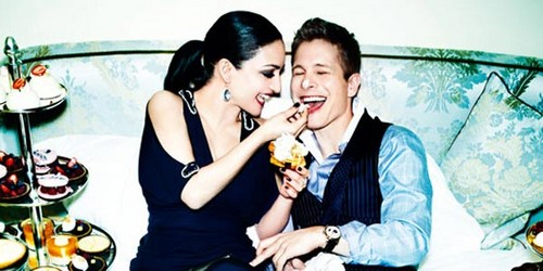 Archie Panjabi and Matt Czuchry - CBS Watch Magazine