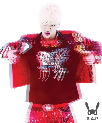 B.A.P 壁纸 probably containing a 衬衫 and a dashiki entitled Bang Yong Guk - Official 照片