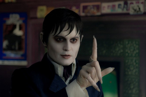 Tim Burton's Dark Shadows wallpaper titled Barnabas Collins