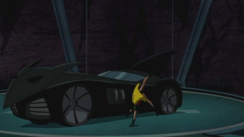 DC Comics achtergrond possibly containing a barrow entitled Batman: Under the Red kap
