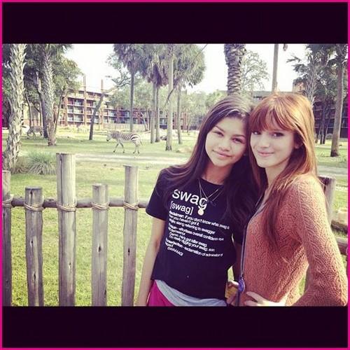 Bella and Zendaya! <3