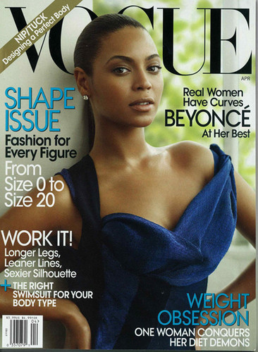 Beyoncé in Vogue
