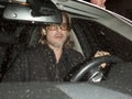 Brad Pitt Leaves Mastro's Steakhouse In Beverly Hills
