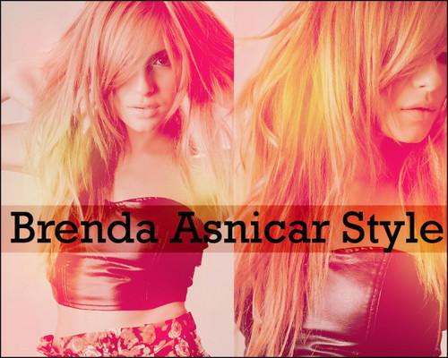 Brenda's look