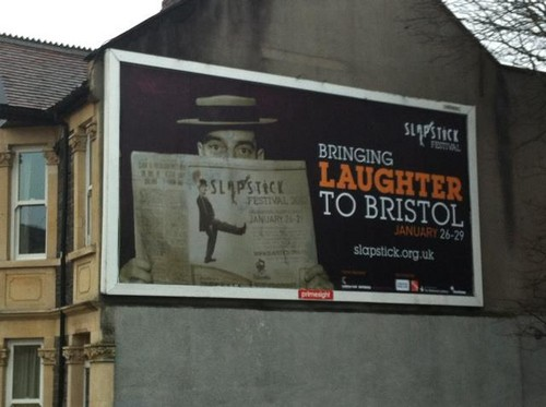 Bringing laughter to Bristol