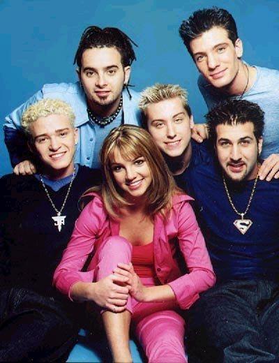 Britney with N'SYNC