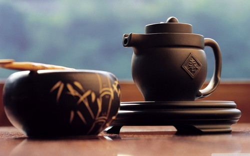 Brown Teapot 바탕화면