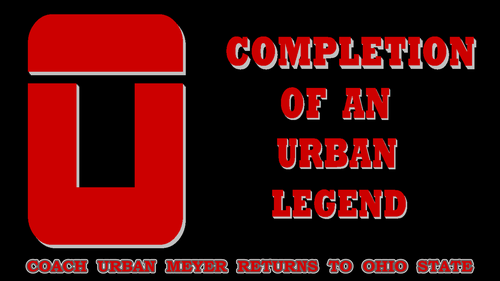 COMPLETION OF AN URBAN LEGEND