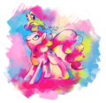 Candy bomb - pinkie-pie fan art