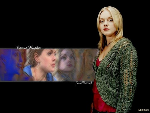 personaggi tv femminili wallpaper titled Cassie Hughes | Hex