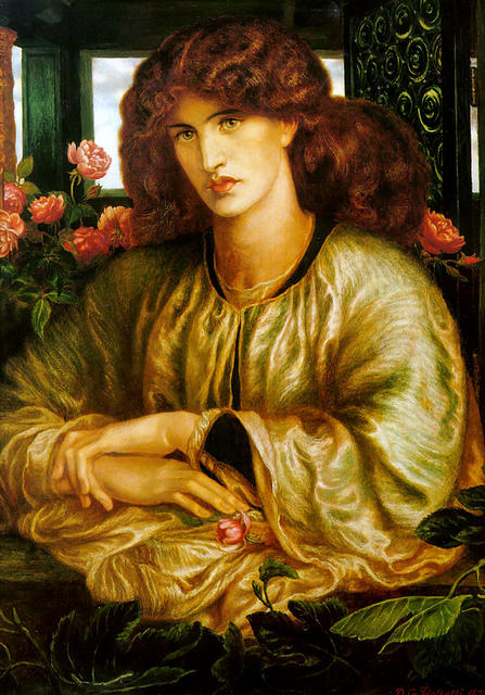Fine art dante gabriel rossetti