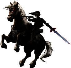 Dark Link... on a horse