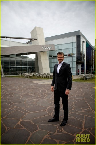 David Beckham: 谷歌 Headquarters Visit!