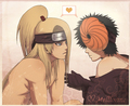 Deitobi HOT - deidara-x-tobi photo