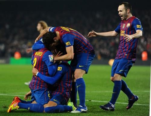 FC Barcelona (4) v Betis (2) - La Liga (Round 19)