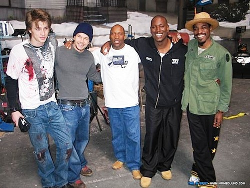 Four Brothers On Set